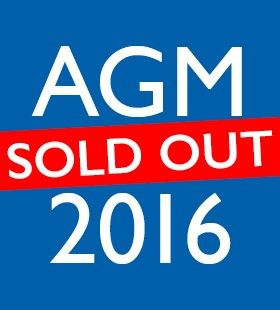 AGM 2016 - Sold Out